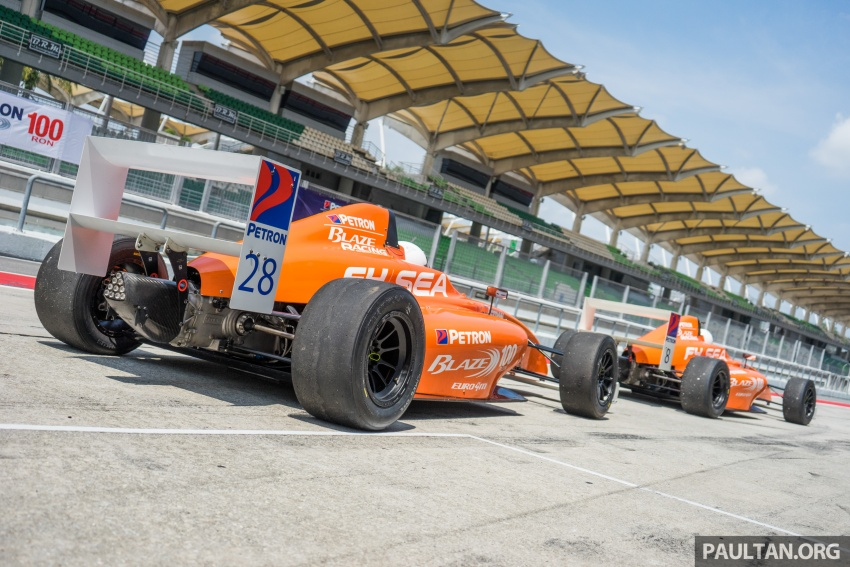 Driving a Formula 4 SEA race car fuelled by Petron Image #704654