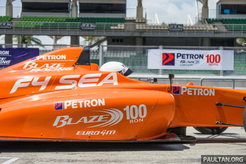 Driving a Formula 4 SEA race car fuelled by Petron Image #704656