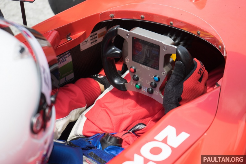 Driving a Formula 4 SEA race car fuelled by Petron Image #704659