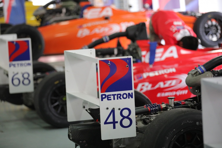 Driving a Formula 4 SEA race car fuelled by Petron Image #704241