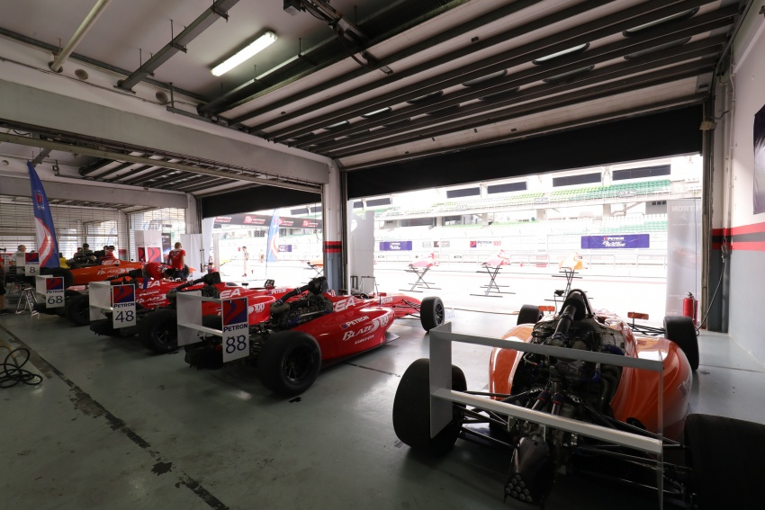 Driving a Formula 4 SEA race car fuelled by Petron Image #704242