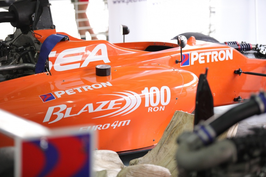 Driving a Formula 4 SEA race car fuelled by Petron Image #704243
