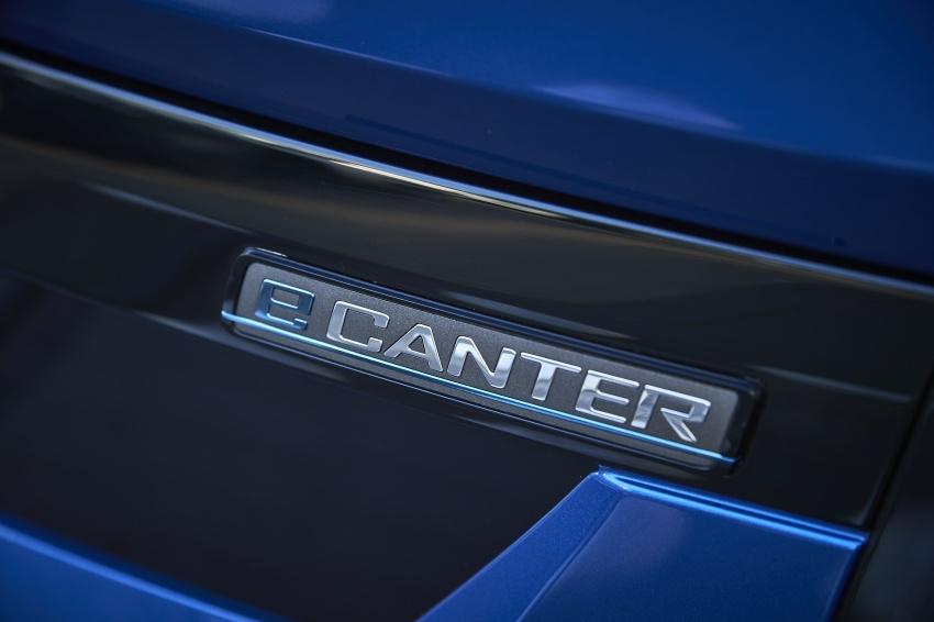 Mitsubishi Fuso eCanter mula dikeluarkan di Eropah – trak kegunaan ringan elektrik penuh pertama di dunia Image #692420