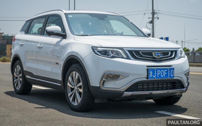PANDU UJI: Geely Boyue – tanggapan awal terhadap SUV pertama Proton, jangka diperkenalkan pada 2018 Image #699084