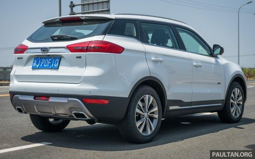 PANDU UJI: Geely Boyue – tanggapan awal terhadap SUV pertama Proton, jangka diperkenalkan pada 2018 Image #699085