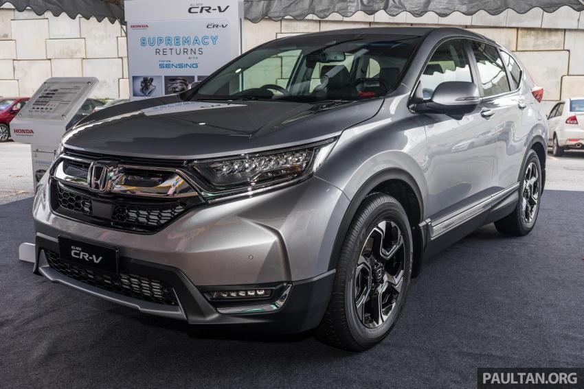 Protokol ujian baharu ASEAN NCAP kini lebih ketat – Honda CR-V 2017 terima pengiktirafan lima-bintang Image #700391