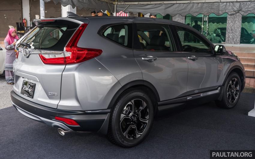 Protokol ujian baharu ASEAN NCAP kini lebih ketat – Honda CR-V 2017 terima pengiktirafan lima-bintang Image #700390