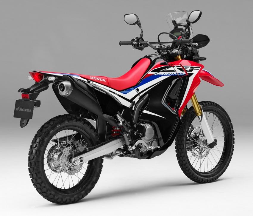 Honda CRF250L dan CRF250 Rally dilancar di Malaysia pada harga masing-masing RM24k dan RM29k Image #704525