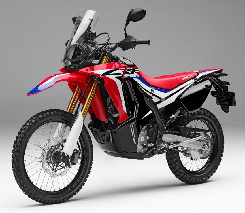 Honda CRF250L dan CRF250 Rally dilancar di Malaysia pada harga masing-masing RM24k dan RM29k Image #704529