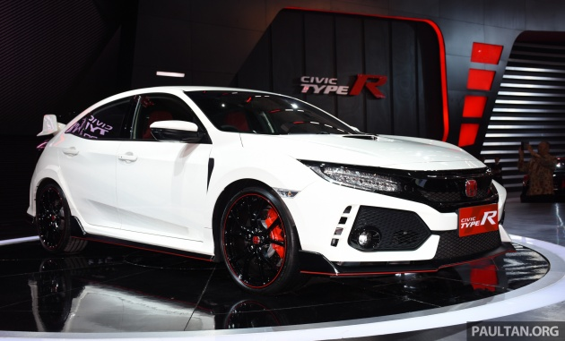 honda civic type r launched in indonesia rm320k. Black Bedroom Furniture Sets. Home Design Ideas