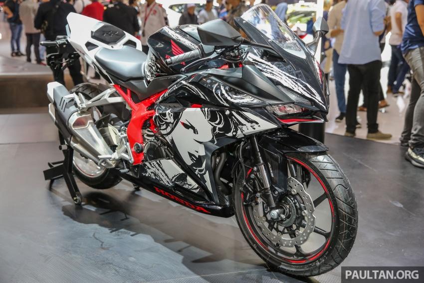 "GIIAS 2017:  2017 Honda CBR250RR Special Edition Indonesia- ""The Art of Kabuki"", from RM20,399 Image #697045"