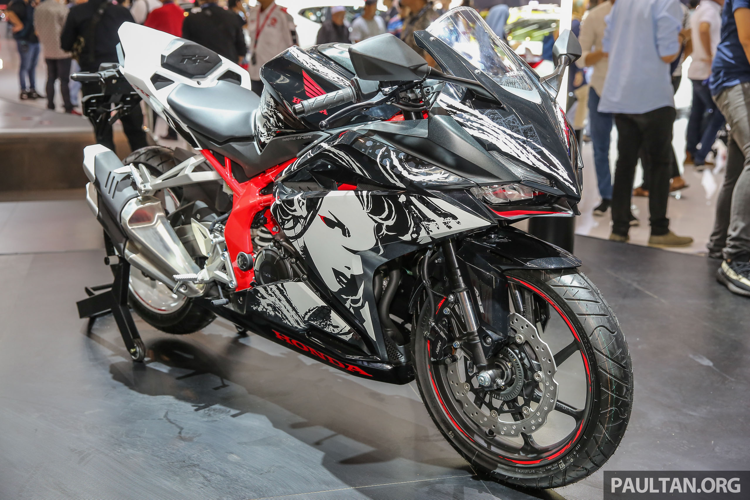 "giias 2017: 2017 honda cbr250rr special edition indonesia- ""the"