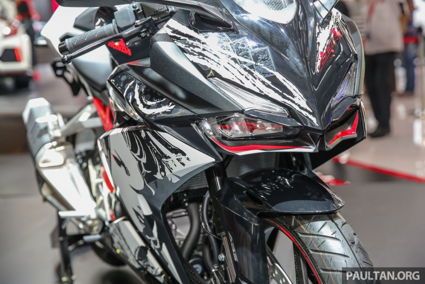"GIIAS 2017:  2017 Honda CBR250RR Special Edition Indonesia- ""The Art of Kabuki"", from RM20,399 Image #697047"