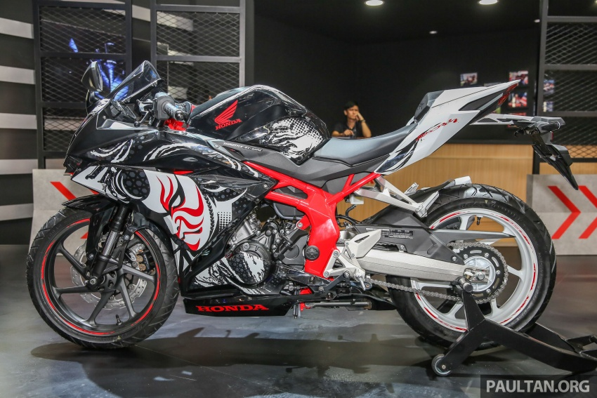 "GIIAS 2017:  2017 Honda CBR250RR Special Edition Indonesia- ""The Art of Kabuki"", from RM20,399 Image #697050"