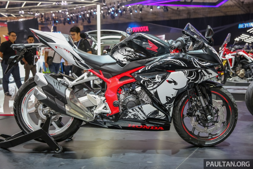 "GIIAS 2017:  2017 Honda CBR250RR Special Edition Indonesia- ""The Art of Kabuki"", from RM20,399 Image #697040"