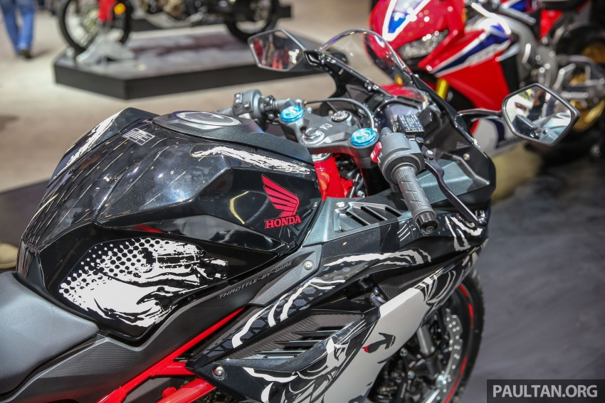 "GIIAS 2017:  2017 Honda CBR250RR Special Edition Indonesia- ""The Art of Kabuki"", from RM20,399 Image #697041"