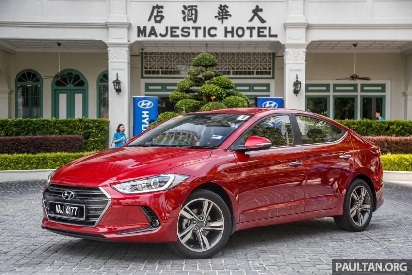 DRIVEN: 2017 Hyundai Elantra Sport 1.6 Turbo, 2.0 NA Image #702333