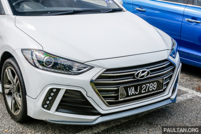 DRIVEN: 2017 Hyundai Elantra Sport 1.6 Turbo, 2.0 NA Image #702346
