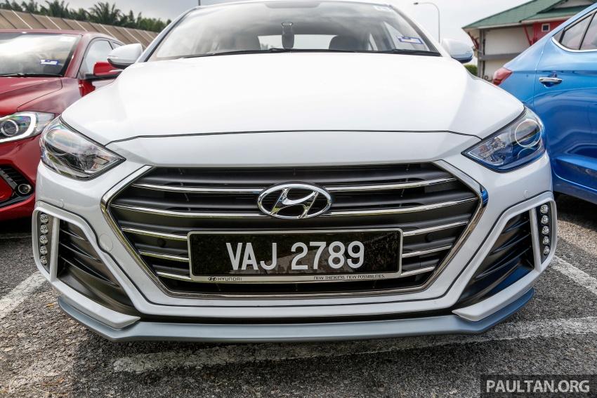 DRIVEN: 2017 Hyundai Elantra Sport 1.6 Turbo, 2.0 NA Image #702350