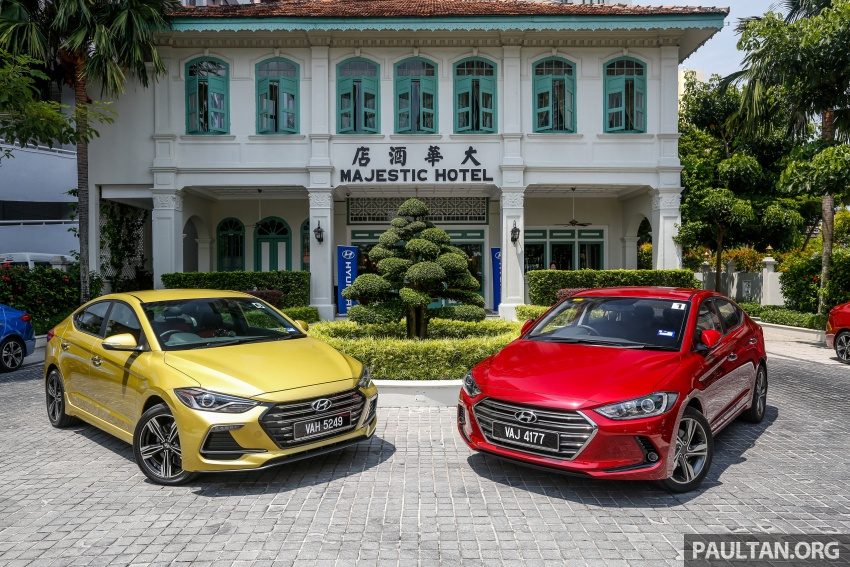 DRIVEN: 2017 Hyundai Elantra Sport 1.6 Turbo, 2.0 NA Image #702342
