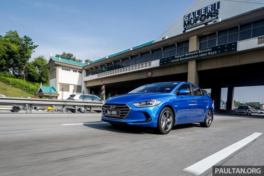 PANDU UJI: Hyundai Elantra 2.0 liter dan Sport 1.6 liter Turbo – paradigma baharu falsafah kejuruteraan Korea Image #701999