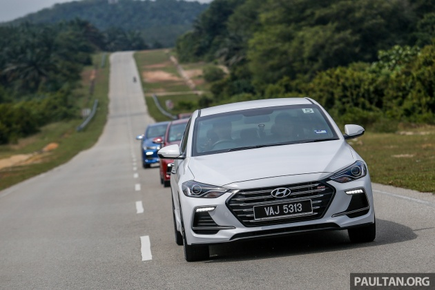 DRIVEN: 2017 Hyundai Elantra Sport 1 6 Turbo, 2 0 NA