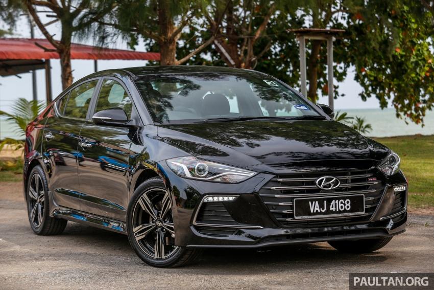 DRIVEN: 2017 Hyundai Elantra Sport 1.6 Turbo, 2.0 NA Image #702255