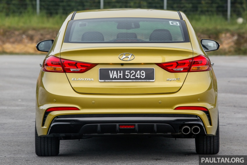 DRIVEN: 2017 Hyundai Elantra Sport 1.6 Turbo, 2.0 NA Image #702264