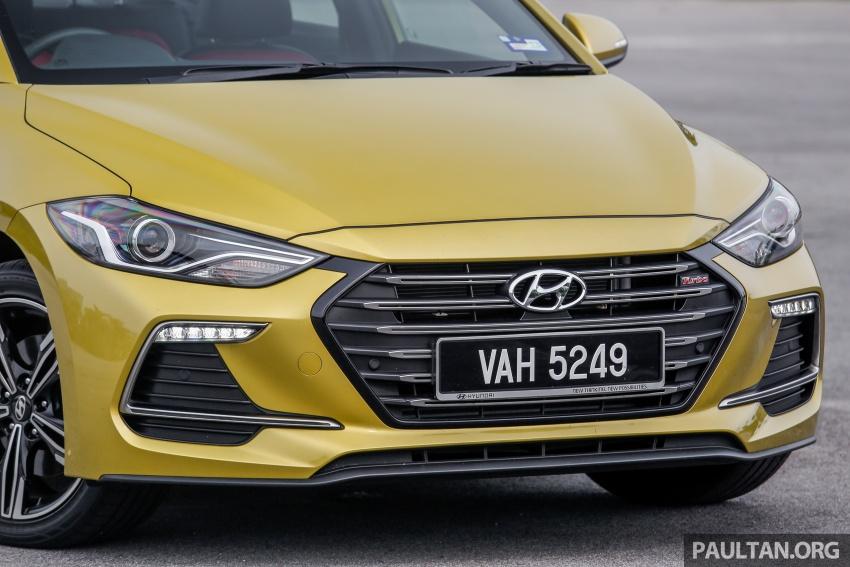 DRIVEN: 2017 Hyundai Elantra Sport 1.6 Turbo, 2.0 NA Image #702265