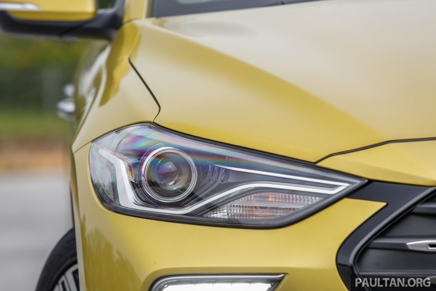 DRIVEN: 2017 Hyundai Elantra Sport 1.6 Turbo, 2.0 NA Image #702266