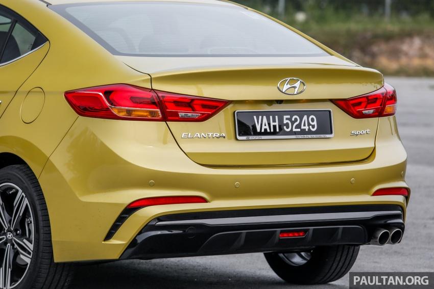 DRIVEN: 2017 Hyundai Elantra Sport 1.6 Turbo, 2.0 NA Image #702279