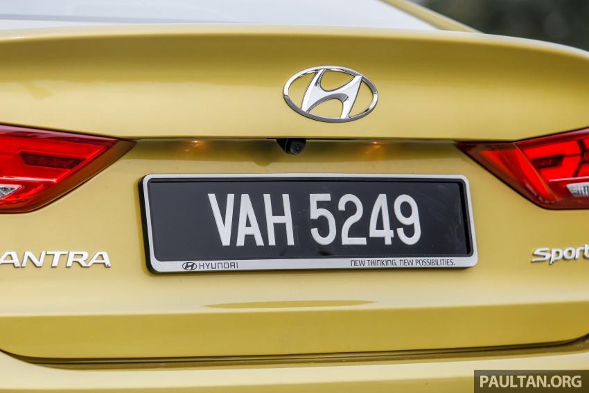 DRIVEN: 2017 Hyundai Elantra Sport 1.6 Turbo, 2.0 NA Image #702283