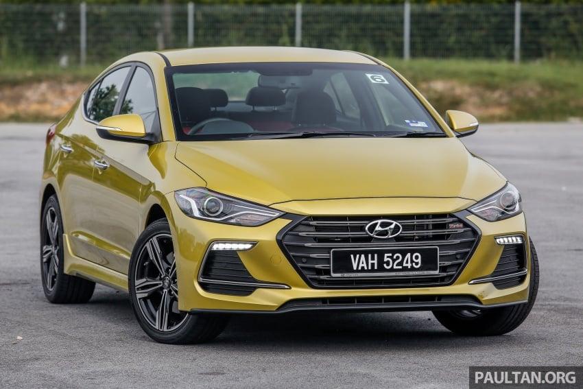 DRIVEN: 2017 Hyundai Elantra Sport 1.6 Turbo, 2.0 NA Image #702258