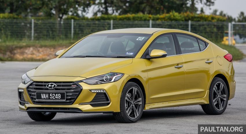 DRIVEN: 2017 Hyundai Elantra Sport 1.6 Turbo, 2.0 NA Image #702259