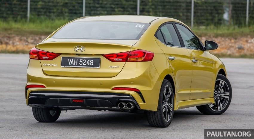 DRIVEN: 2017 Hyundai Elantra Sport 1.6 Turbo, 2.0 NA Image #702260