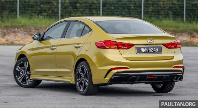 DRIVEN: 2017 Hyundai Elantra Sport 1 6 Turbo, 2 0 NA