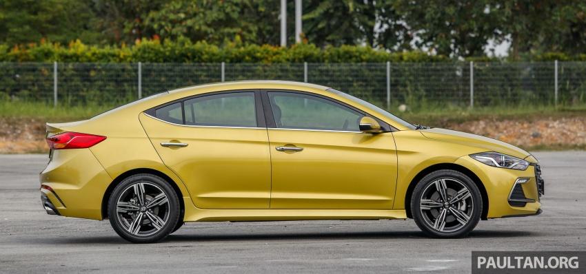 DRIVEN: 2017 Hyundai Elantra Sport 1.6 Turbo, 2.0 NA Image #702262