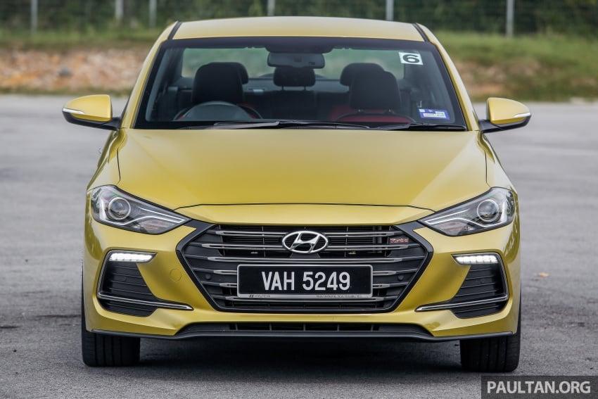 DRIVEN: 2017 Hyundai Elantra Sport 1.6 Turbo, 2.0 NA Image #702263