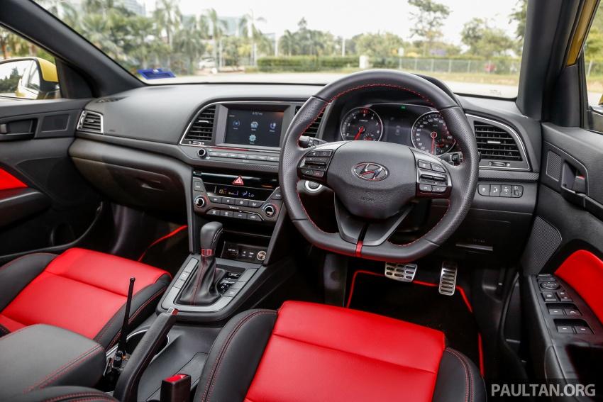 DRIVEN: 2017 Hyundai Elantra Sport 1.6 Turbo, 2.0 NA Image #702306