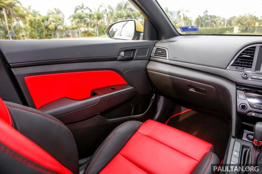 DRIVEN: 2017 Hyundai Elantra Sport 1.6 Turbo, 2.0 NA Image #702307