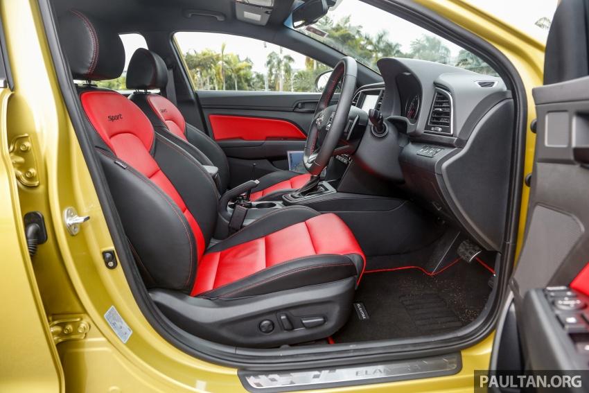 DRIVEN: 2017 Hyundai Elantra Sport 1.6 Turbo, 2.0 NA Image #702309
