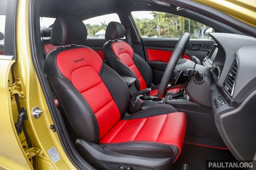 DRIVEN: 2017 Hyundai Elantra Sport 1.6 Turbo, 2.0 NA Image #702310