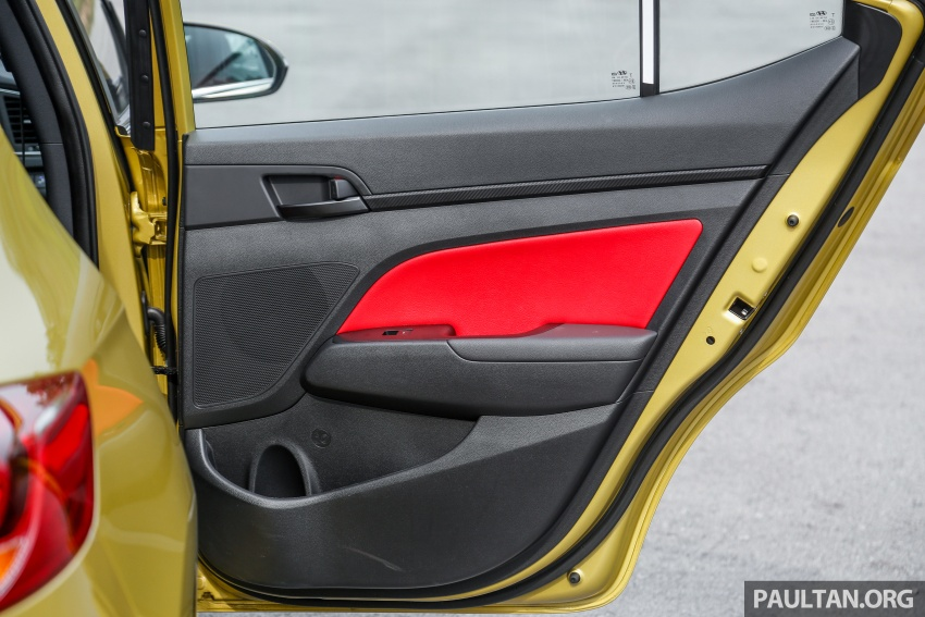DRIVEN: 2017 Hyundai Elantra Sport 1.6 Turbo, 2.0 NA Image #702320