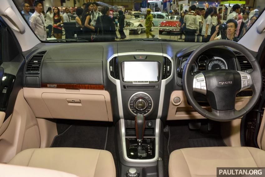 Isuzu MU-X facelift kini dilancarkan di M'sia – bermula RM177k, standard 6-beg udara, ciri lain dipertingkat Image #693495