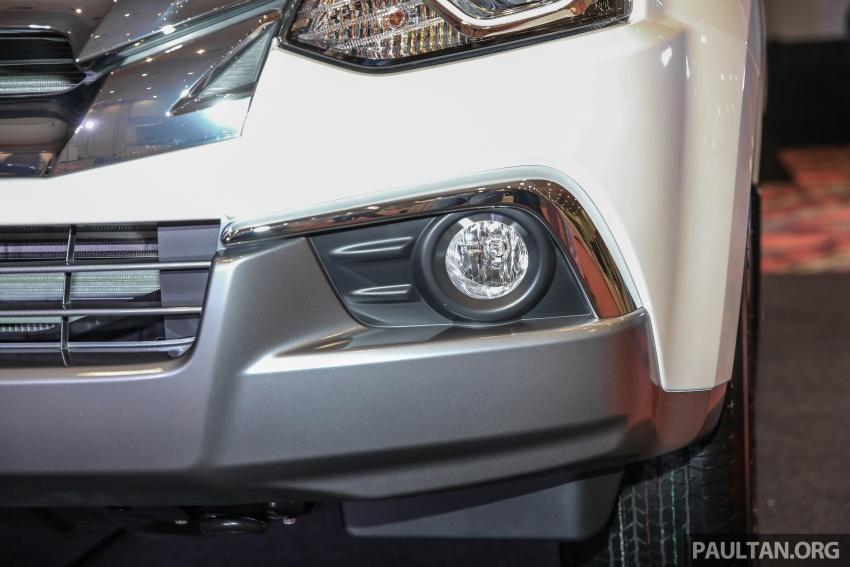 Isuzu MU-X facelift kini dilancarkan di M'sia – bermula RM177k, standard 6-beg udara, ciri lain dipertingkat Image #693592