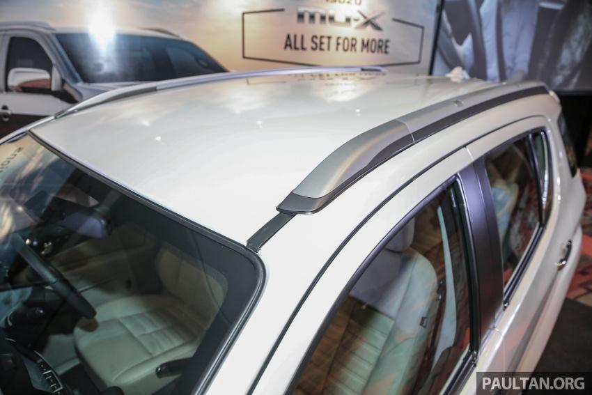 Isuzu MU-X facelift kini dilancarkan di M'sia – bermula RM177k, standard 6-beg udara, ciri lain dipertingkat Image #693598