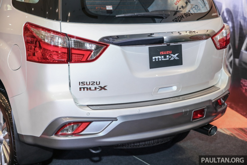 Isuzu MU-X facelift launched in Malaysia, from RM177k Image #693527