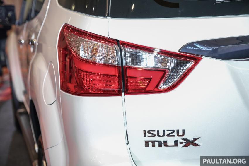 Isuzu MU-X facelift kini dilancarkan di M'sia – bermula RM177k, standard 6-beg udara, ciri lain dipertingkat Image #693601