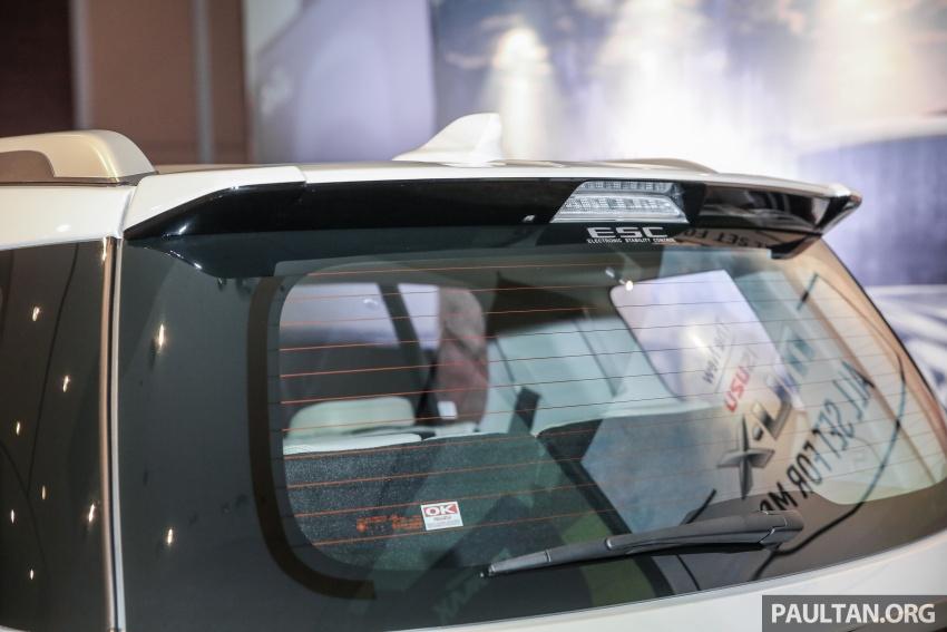 Isuzu MU-X facelift kini dilancarkan di M'sia – bermula RM177k, standard 6-beg udara, ciri lain dipertingkat Image #693605