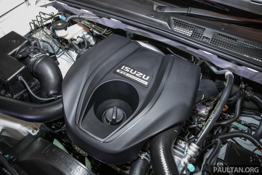 Isuzu MU-X facelift kini dilancarkan di M'sia – bermula RM177k, standard 6-beg udara, ciri lain dipertingkat Image #693610